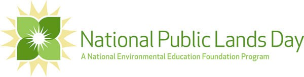 National Public Lands Day logo