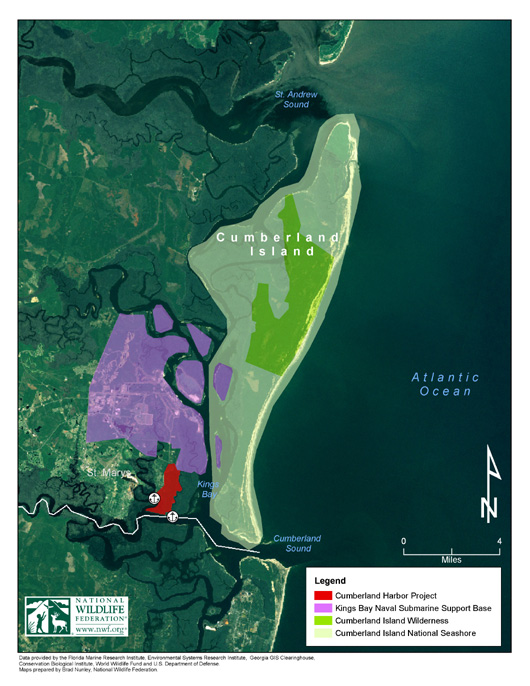 Cumberland Harbor Project Map